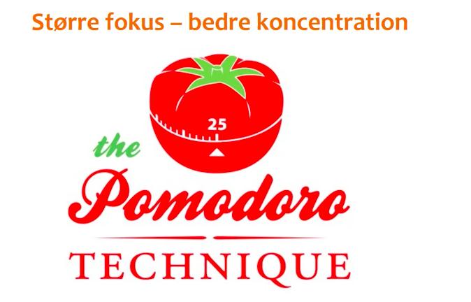 promodoro teknikken
