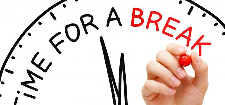 Giver du dig selv lov til at holde pause i hverdagen?